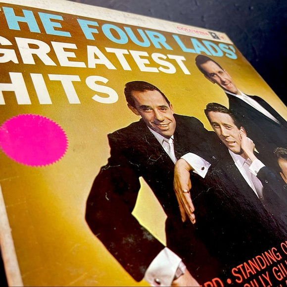 vintage the four lads greatest hits album